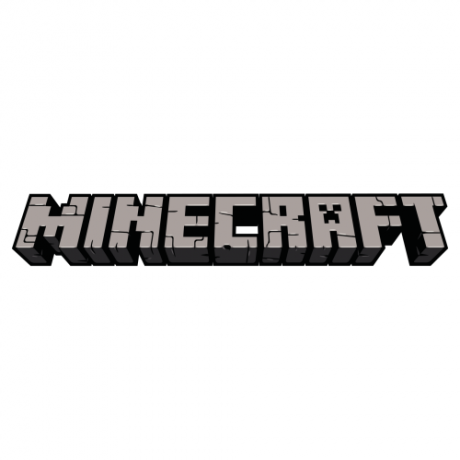 The Minecraft game logo.