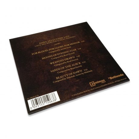 The Elder Scrolls Online – Featured Music Selections (back)