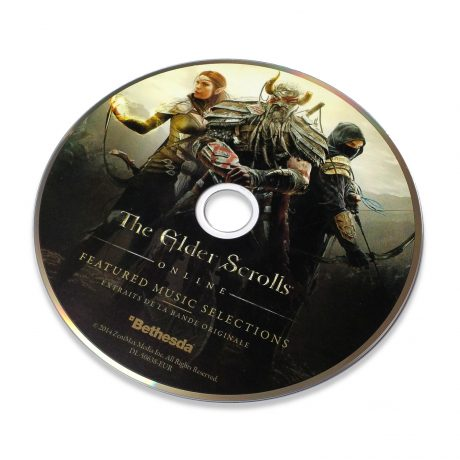 The Elder Scrolls Online – Featured Music Selections (disc)