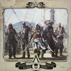 Assassin's Creed - Black Flag Soundtrack [VINYL] (front cover) [cover art]