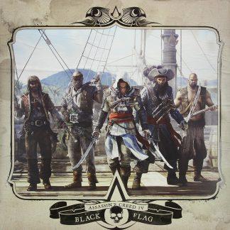 Assassin's Creed - Black Flag Soundtrack [VINYL] (front cover) [cover art]