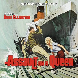 Assault on a Queen - Original Motion Picture Soundtrack CD - DDR621 - Music by Duke Ellington [cover art]
