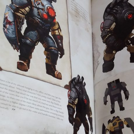 Big Daddy concept paintings!