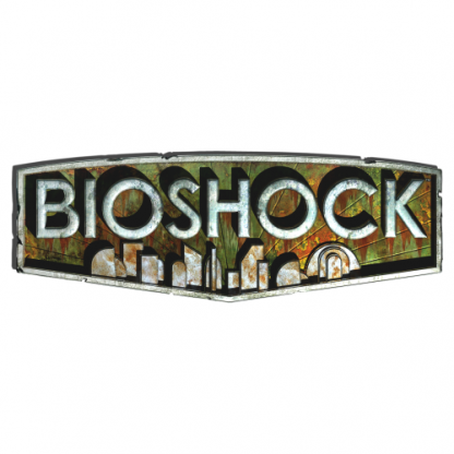The BioShock game [logo art]