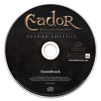 Eador Soundtrack CD [disc]