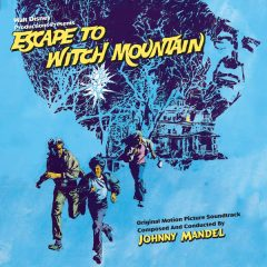 Escape to Witch Mountain (Johnny Mandel) Soundtrack CD [cover art]