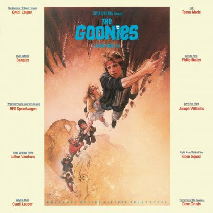Goonies, The Soundtrack CD (OST) [cover art]