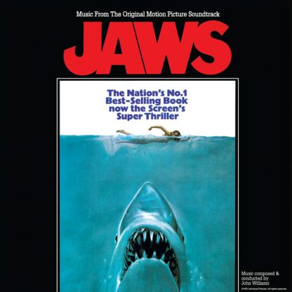 JAWS Soundtrack CD [cover art]