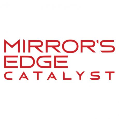 The Mirror's Edge game logo.