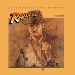 Raiders of the Lost Ark Soundtrack (John Williams) [cover art]