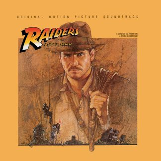 Raiders of the Lost Ark Soundtrack (John Williams) [cover art]