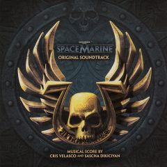 Warhammer 40,000 Space Marine Soundtrack CD [cover art]