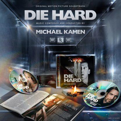 Die Hard (Michael Kamen) [Soundtrack 2CD Re-issue - contents]