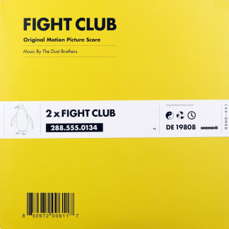 Fight Club - Soundtrack Score (The Dust Brothers) [VINYL] [cover]