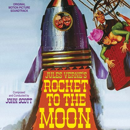 Jules Verne's Rocket to the Moon (John Scott) [Soundtrack CD] [cover]