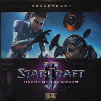 StarCraft 2 - Heart of the Swarm (Soundtrack) [cover art]