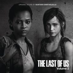 The Last of Us, Vol. 2 (Gustavo Santaolalla) [Video Game Soundtrack] [cover art]