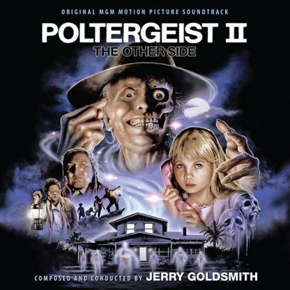 The new artwork for Poltergeist II: The Other Side (3xCD edition)
