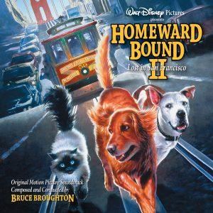 Homeward Bound II - Lost in San Francisco (Soundtrack CD) [cover art]