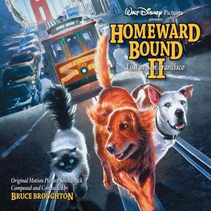 Homeward Bound II - Lost in San Francisco (Soundtrack CD) [cover art]