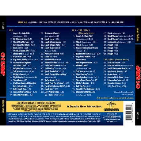 Jaws 3-D [2CD] [track listing]