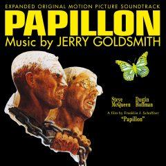 Papillon Soundtrack CD (Jerry Goldsmith) [cover art]