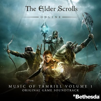 The Elder Scrolls Online - The Music of Tamriel, Volume One (Soundtrack) [cover art]