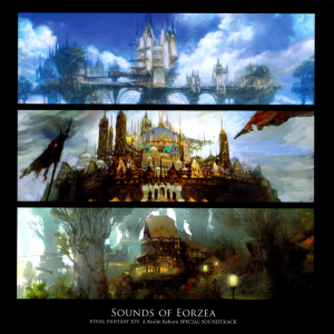 The Sounds of Eorzea - Final Fantasy XIV - A Realm Reborn Special Soundtrack [cover art]