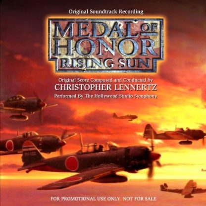 Medal of Honor: Rising Sun (Soundtrack CD) [Promo]