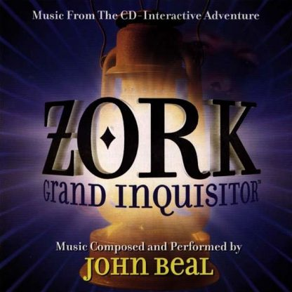 ZORK Grand Inquisitor (Video Game Soundtrack CD) [cover art]