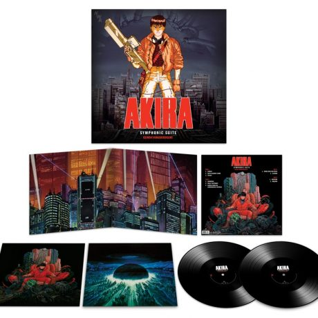 The contents of this 2LP release. Check out that inner artwork!