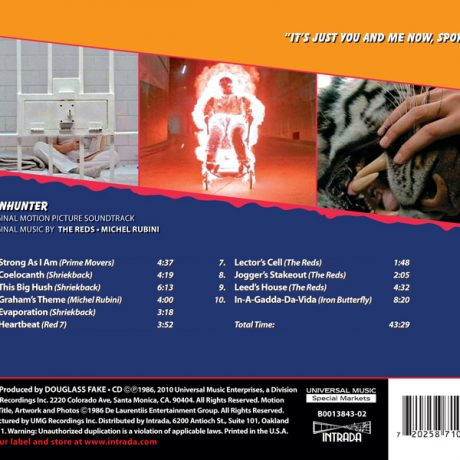 The back cover/tray insert.