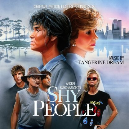 Shy People (Soundtrack CD) by Tangerine Dream [cover]