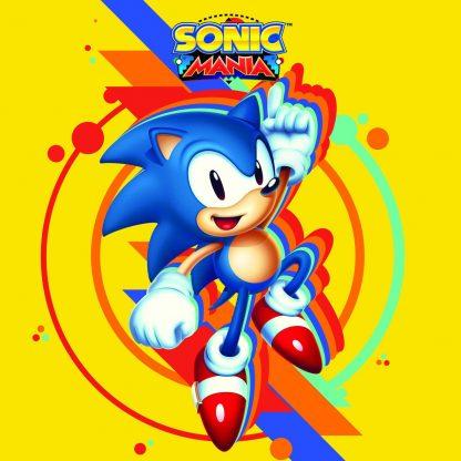 Sonic Mania (Soundtrack) [VINYL] (cover art)