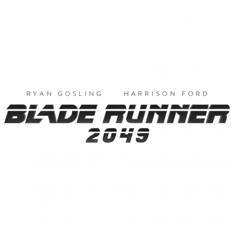 The official Blade Runner 2049 logo (mono).