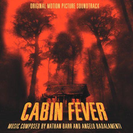 The album cover design for Cabin Fever (soundtrack).