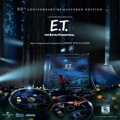 E.T. Soundtrack (John Williams) 35th Anniversary Edition [2CD] [presentation]