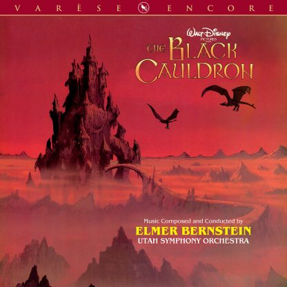 The Black Cauldron (Soundtrack) [CD] (cover art)