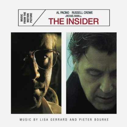 The Insider (Soundtrack) [CD] [cover]