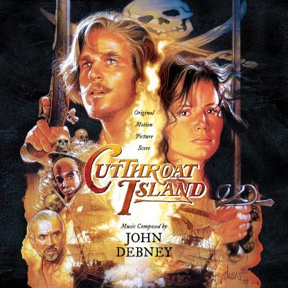 Cutthroat Island Soundtrack Score (John Debney) [2CD] (cover)