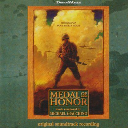 Medal of Honor (Michael Giacchino) [album cover artwork]