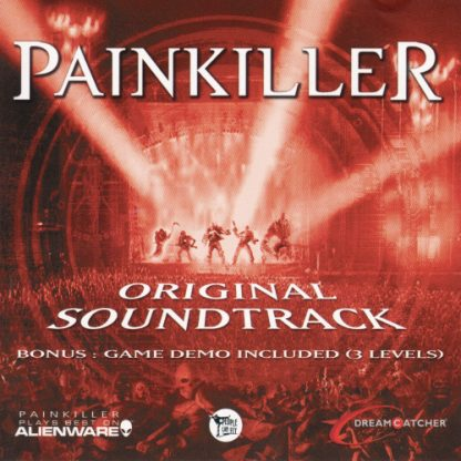 Painkiller Original Soundtrack (CD) [cover]