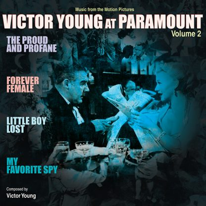 Victor Young at Paramount vol. 2 Soundtrack CD [cover art]