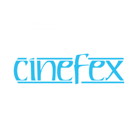 The iconic Cinefex logo.