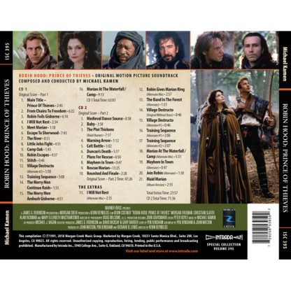 Robin Hood - Prince of Thieves (Soundtrack) [2CD] [back]
