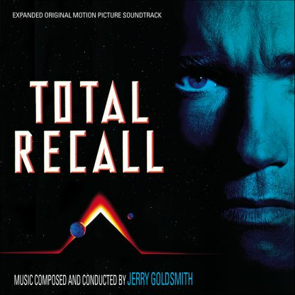 Total Recall (Jerry Goldsmith) Soundtrack [2xCD Expanded Edition] [cover]