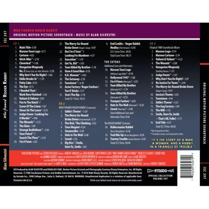Who Framed Roger Rabbit (Soundtrack by Alan Silvestri) [3CD] [back]