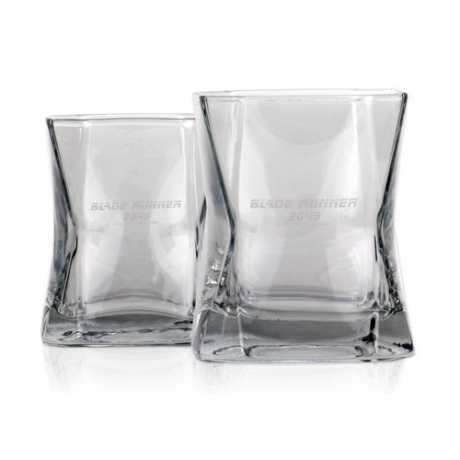 Blade Runner 2049 Whiskey Glasses [with film packaging]