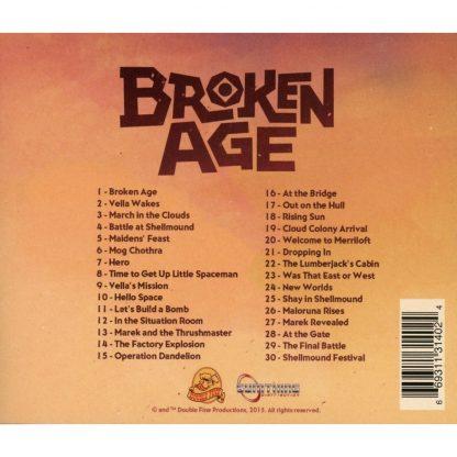 Broken Age (Soundtrack CD) [cover, back]