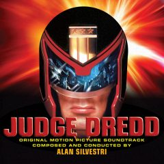 Judge Dredd (Soundtrack CD) [Expanded] (Alan Silvestri) [2CD] [cover design - alternative]